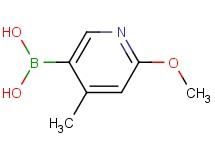(6-methoxy-4-methyl-3-pyridinyl)boronic acid