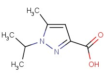 1-isopropyl-5-methyl-1H-pyrazole-3-carboxylic acid