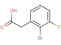 (2-bromo-3-fluorophenyl)acetic acid