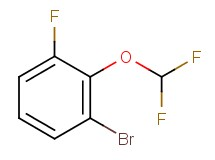 1-bromo-2-(difluoromethoxy)-3-fluorobenzene