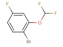 1-bromo-2-(difluoromethoxy)-4-fluorobenzene