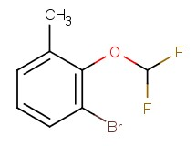1-bromo-2-(difluoromethoxy)-3-methylbenzene