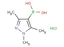 (1,3,5-trimethyl-1H-pyrazol-4-yl)boronic acid hydrochloride