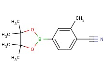2-methyl-4-(4,4,5,5-tetramethyl-1,3,2-dioxaborolan-2-yl)benzonitrile