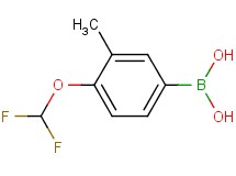 [4-(difluoromethoxy)-3-methylphenyl]boronic acid