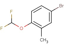 4-bromo-1-(difluoromethoxy)-2-methylbenzene