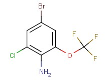 4-bromo-2-chloro-6-(trifluoromethoxy)aniline