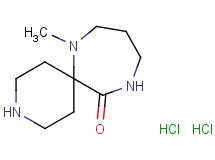 7-methyl-3,7,11-triazaspiro[5.6]dodecan-12-one dihydrochloride