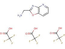 ([1,3]oxazolo[4,5-b]pyridin-2-ylmethyl)amine tris(trifluoroacetate)