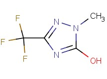 1-methyl-3-(trifluoromethyl)-1H-1,2,4-triazol-5-ol