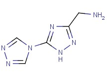 (2H-3,4'-bi-1,2,4-triazol-5-ylmethyl)amine