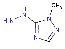 5-hydrazino-1-methyl-1H-1,2,4-triazole