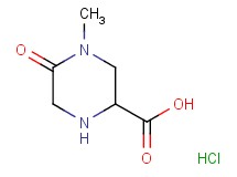 4-methyl-5-oxo-2-piperazinecarboxylic acid hydrochloride