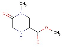 methyl 4-methyl-5-oxo-2-piperazinecarboxylate