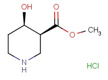 methyl cis-4-hydroxy-3-piperidinecarboxylate hydrochloride