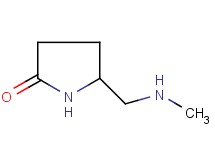 5-[(methylamino)methyl]pyrrolidin-2-one