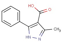 3-methyl-5-phenyl-1H-pyrazole-4-carboxylic acid