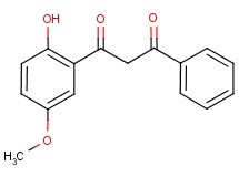 1-(2-hydroxy-5-methoxyphenyl)-3-phenylpropane-1,3-dione