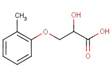 2-hydroxy-3-(2-methylphenoxy)propanoic acid